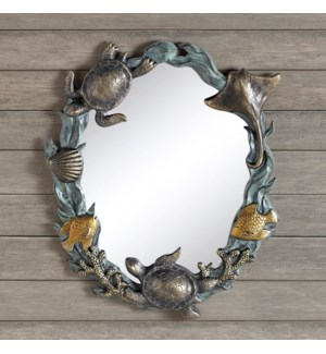 Turtles and Sealife Wall Mirror