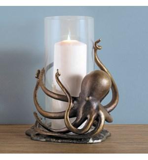 Octopus Hurricane Candleholder