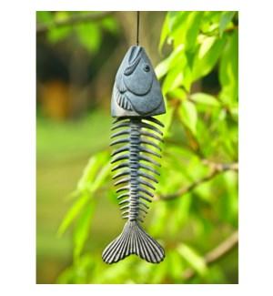 Fish Skeleton Windchime