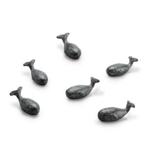 Whale Minimals Set of 6