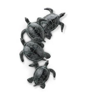 Sea Turtle Quartet Wall Hanging
