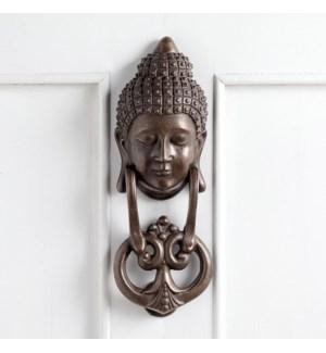 Buddha Brass Doorknocker