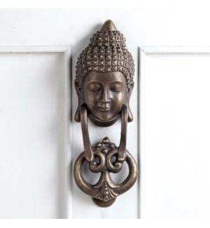 Buddha Aluminum Doorknocker