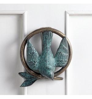 Bird and Branch Doorknocker