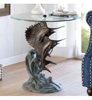 Marlin and Sailfish End Table