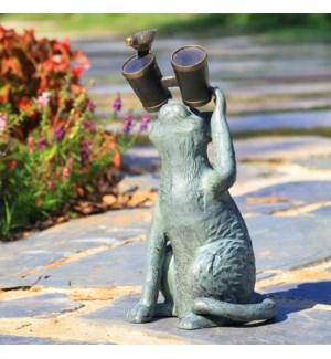 Observant Cat Garden Sculpture
