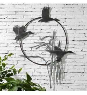 Duck Trio Garden Wall Hanging