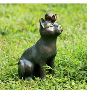 Rivalry Garden Sculpture (cat