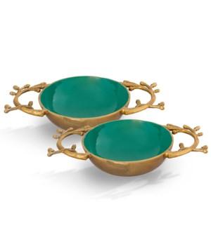 Branch Emerald Green Bowl Holder