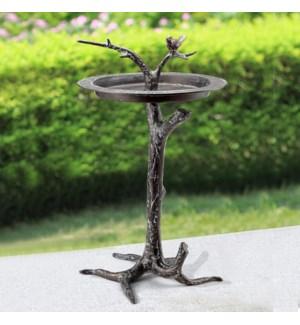 Bird & Twig Sundial/Birdbath
