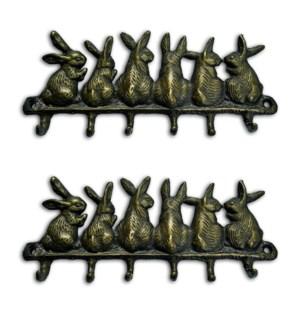 Bunny Keyhook Set