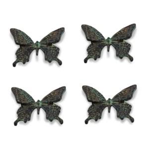 Swallowtail Butterfly Minimals Set of 4
