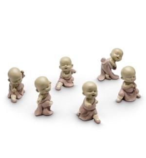 Fighting Mini Monks