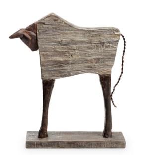 Bull Desktop Decor