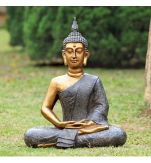 Thoughtfull Buddha Garden Scul