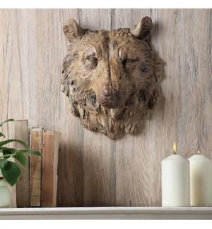 Bear Head Wall Hanging