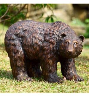 Rust Finish Garden Bear