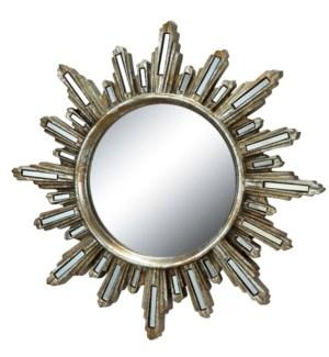 Deco Radiance Wall Mirror