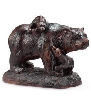 Playtime Garden Sculpture - Bear and Cubs