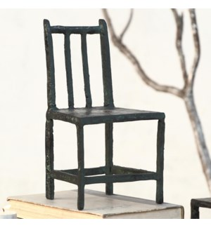 Rustic Chair Large Candleholder