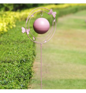 Butterfly and Wire Garden Stake