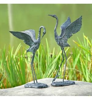 Exalted Crane Pair Set of 2