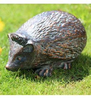 Timid Hedgehog Garden Sculpture