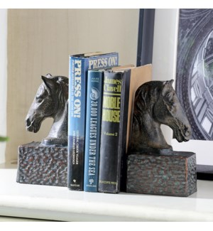 Horsehead Bookends on Base Pair