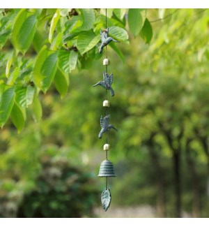 Hummingbird Trio Wind Chime