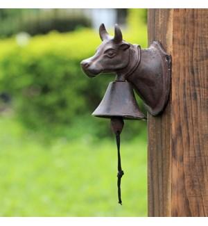 Bull Head Garden Bell