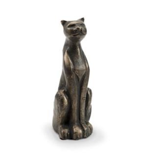 Stuffy Cat Figurine