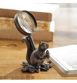 Squirrel Magnifier Glass