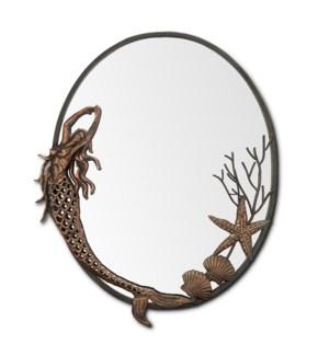Mermaid Oval Mirror