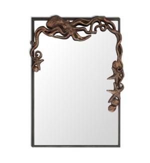 Octopus Rectangular Mirror