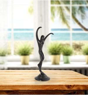 Stretching Modern Dancer Sculpture