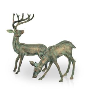 Grarden Deer Pair