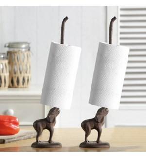 Elephant Paper Towel Holders Pair