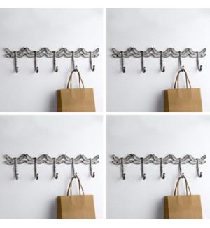Dragonfly Quintet Coat Hooks Pack of 4
