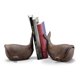 Whale Bookends PR