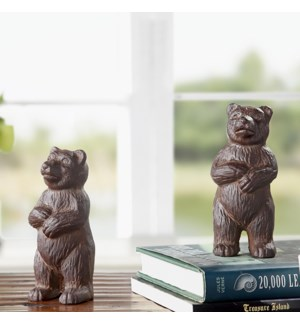Bear Paperweights Pack of 2