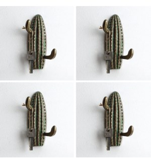 Pointy Cactus Hooks Pack of 4