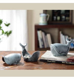Whale Jewelry Boxes Pack of 2