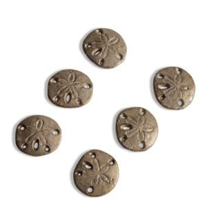 Sand Dollar Minimals Set of 6