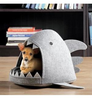 Shark Head Pet Bed