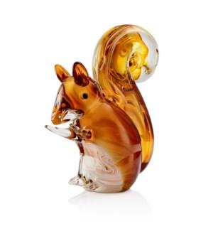 Art Glass Squirrel
