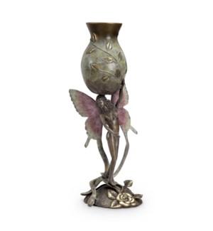 Rose Garden Fairy Vase