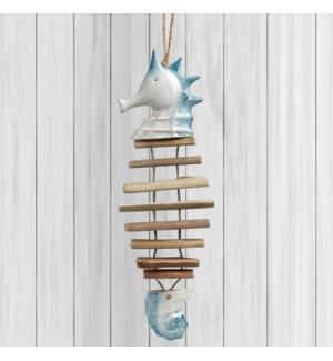 Ceramic Large Seahorse Mobile