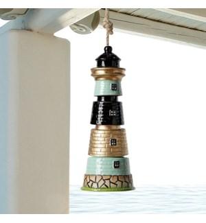 Segmented Lighthouse Ceramic Windchime