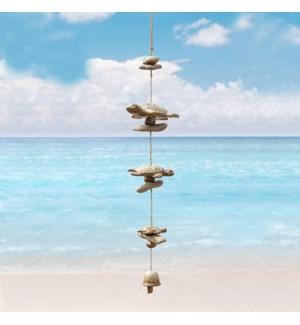 Sea Turtle Ceramic Wind Chime