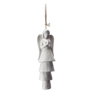 Angel Ceramic Windchime